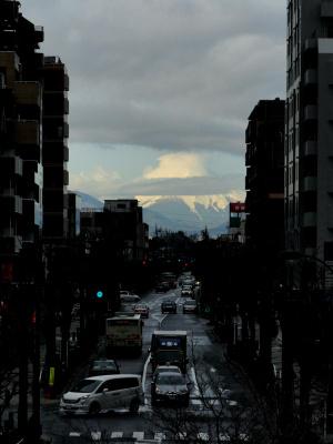雨上がりの富士