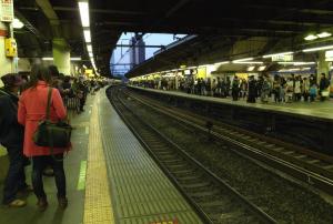 新宿駅山手線ホーム