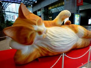 涅槃大招き猫