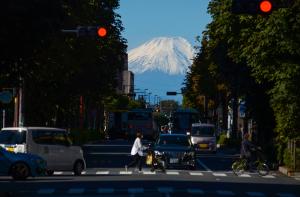 東久留米から見る富士山